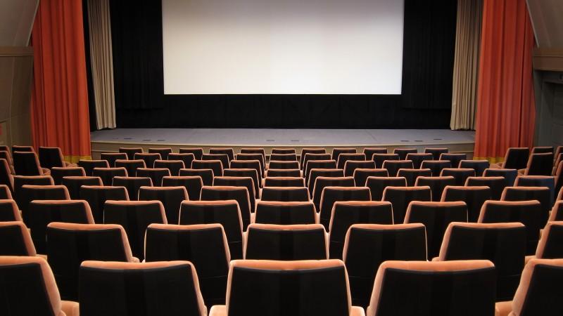 映画館で社内イベント